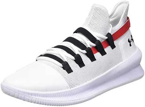 paso Llevar El cielo  Under Armour M-Tag Low Men's Basketball Shoes, White (White / White /  Metallic Silver 100), 8.5 UK (43 EU): Buy Online at Best Price in UAE -  Amazon.ae
