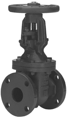 - Milwaukee Valve 2885-M Series Iron Gate Valve, Class 125, Rising Stem, 3