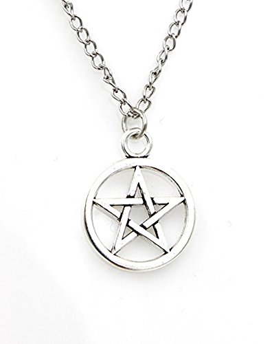 Amazon supernatural inspired necklacepentagram pendant supernatural inspired necklacepentagram pendant necklace amulet necklace aloadofball Gallery