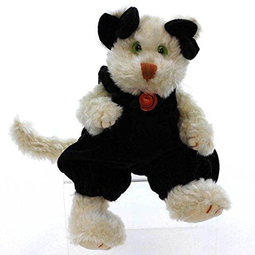 Boyd Glass - Boyds Bears Plush FELINA B CATTERWALL 919701 Halloween Cat Black