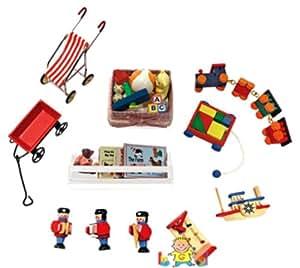 Amazon Com Melissa Amp Doug Deluxe Doll House Nursery Room