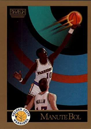520c77327 Amazon.com  1990 SkyBox Basketball Card (1990-91)  94 Manute Bol Mint   Collectibles   Fine Art