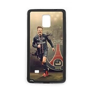 The Football Star David Beckham for SamSung Galaxy Note4 Black Case Hardcore-3