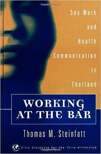 Bar communication health in sex thailand work working