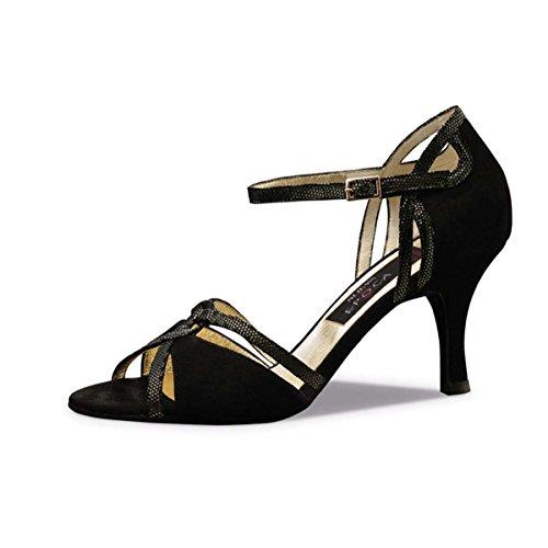 Talla 34 Nueva Ante Epoca Zapatos eur De Negro 5 Christina UqHU8Yw