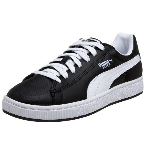best website 72fd3 10880 Puma Men's Basket II Sneaker, Black/White, 10 D: Buy Online ...