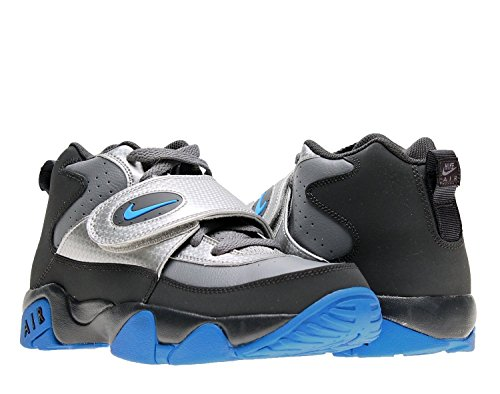 NIKE Air Mission (GS) Boys Cross Training Shoes 630911-004 Anthracite 5.5 M US