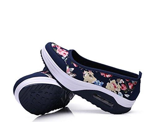 Bopstyle Dames Mesh Instapplatform Fitness Wandelschoenen Sneakers Voor Zomerpaars