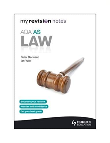 My Revision Notes: AQA AS Law: Amazon co uk: Peter Darwent