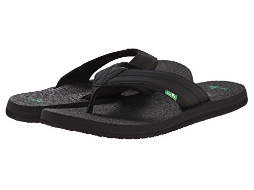 Flip Beer Black Men's Flop 2 Sanuk Cozy aqCfvxn5xw