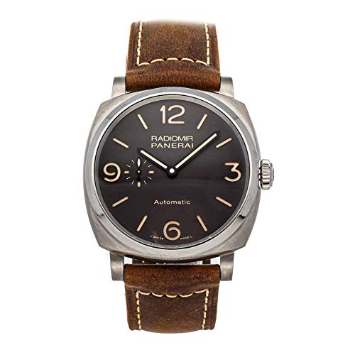 Panerai Radiomir 1940 Mechanical (Automatic) Brown Dial Mens Watch PAM 619 (Certified Pre-Owned)