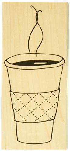 Hero Arts Cup of Coffee Woodblock Stamp