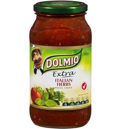 Salsa para pasta Pasta con Salsa de Hierba italiano 500gm