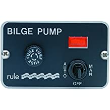 Rule 42 3-Way Panel Lighted Pump 24/32V DC Switch Toggle