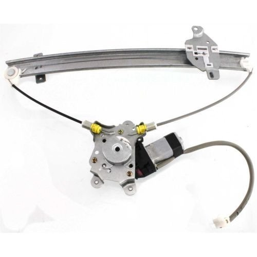 Go-Parts ª OE Replacement for 2002-2007 Mitsubishi Lancer Power Window Motor and Regulator Assembly - Front Left (Driver) Side - (ES Sedan + LS Sedan + OZ Rally Sedan) MR991325 -