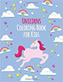 PHERAL FIT Unicorns Coloring Book for Kids: 130 Pages with Unicorns for Kids - Unicorns are Real! Awesome Coloring Book for Kids - with Unicorns