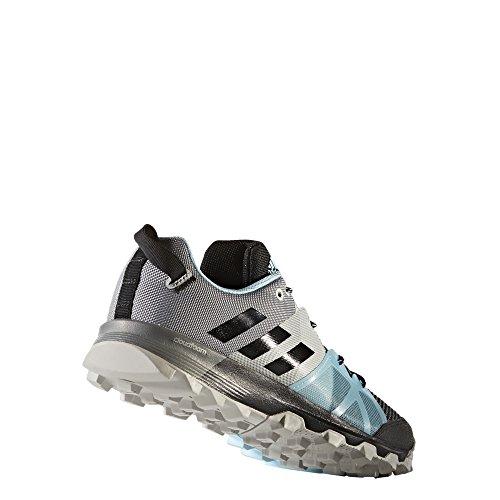 adidas Kanadia 8.1 Tr, Zapatillas de Running para Asfalto para Mujer, Negro Negro (Core Black/core Black/icey Blue)