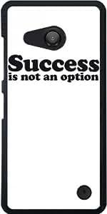 Funda para Microsoft Lumia 550 - El éxito No Es Una Opción by wamdesign