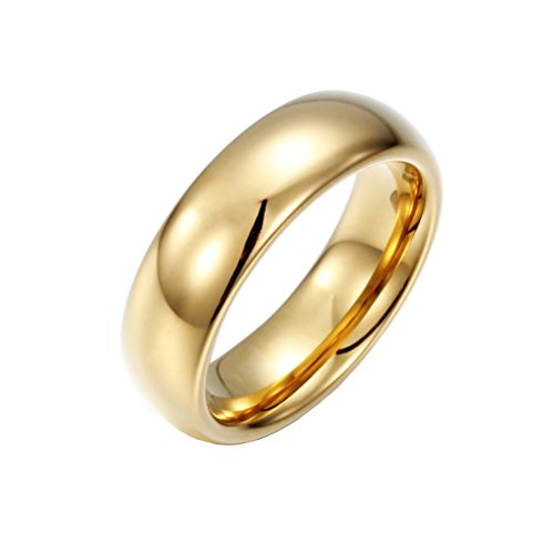 hijones-unisex-tungsten-carbide-18k-gold-plated-wedding-band-ring-6mm-high-polished-size-12