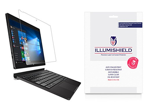 Dell XPS 12 Screen Protector (2015)[2-Pack], iLLumiShield - Japanese Ultra Clear HD Film with Anti-Bubble and Anti-Fingerprint - Xps Screen Protector 12