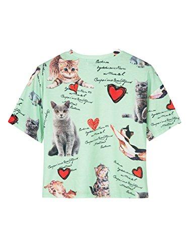 3e75d2c1b40 Amazon.com  PERSUN Women s Cute Crop Top Short Sleeve Casual T-Shirt   Clothing