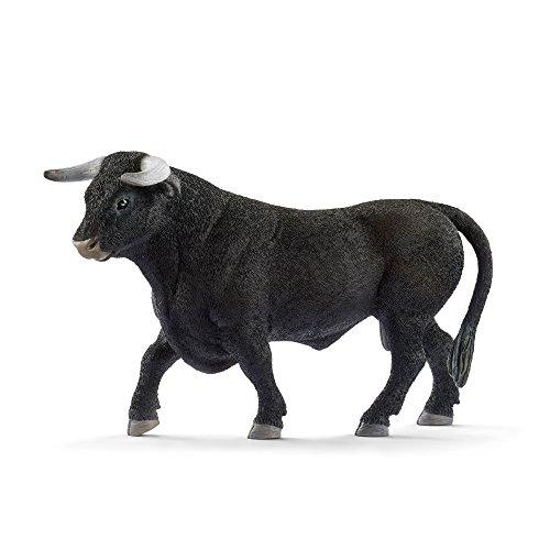 Schleich Black Bull Toy Figurine