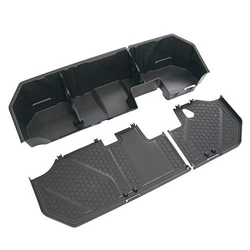 2019 Silverado Sierra (Crew CAB) Next Gen Underseat Storage Box 84085248 Black Genuine GM by General Motors (Image #3)