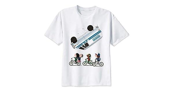 GKKYU Chaleco De Manga Corta Cosas Extrañas Camiseta Anime Camiseta Hombres O-Cuello para Hombre Camisetas Alta ...