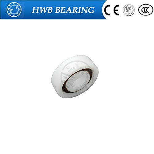 Ochoos 10PCS Plastic Ball Bearings 6906 (30x47x9) 6907 (35x55x10) 6908 (40x62x12) 6909 (45x68x12) 6910 (50x72x12) - (Length: 6909) ()