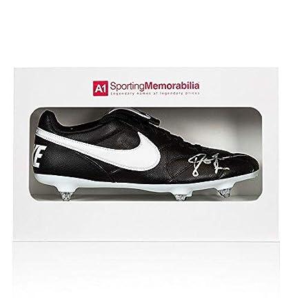 ce99b2d2dd296 John Barnes Signed Football Boot - Nike - Gift Box Autograph Cleat ...