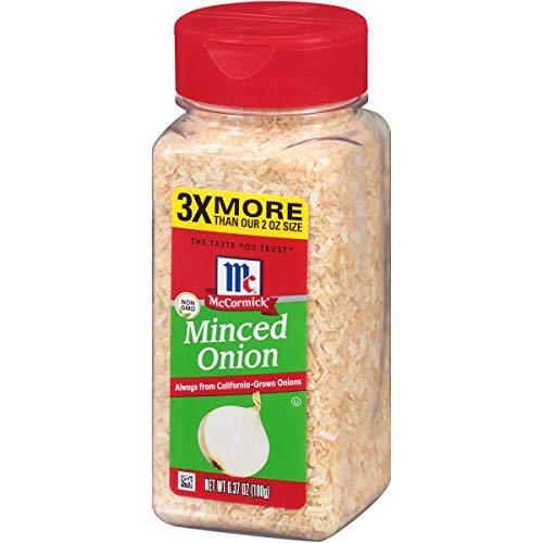 McCormick Minced Onions, 6.37 oz (Garners Pickled Onions)
