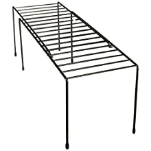 Honey-Can-Do KCH-04370 Adjustable Coated Steel Wire Shelf, 5.9 by 14.8-26 by 6-Inch