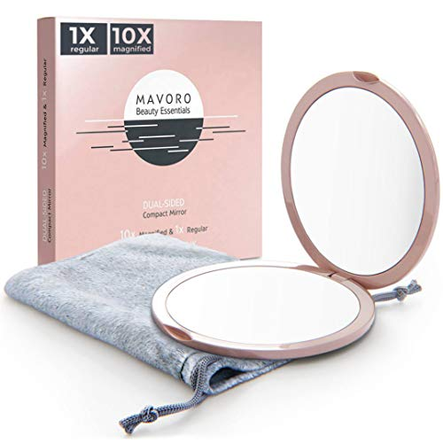 Magnifying Compact Mirror for