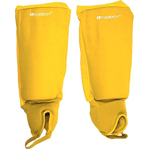 (One Size, Bright Gold) - CranBarry Deluxe Field Hockey Shin Guards B00A6VFX6Y