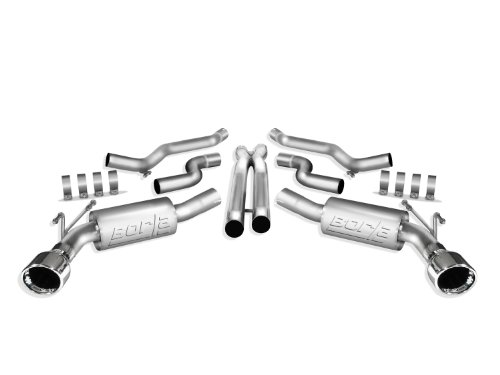 Borla 140280 Cat-Back Exhaust System - CAMARO '10 6.2L V8 AT/MT RWD 2DR