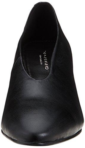 Mujer Cerrada Punta Negro para Olivia Zapatos de 20 con Vagabond Black Tacón Apncx
