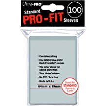 Pro-Fit: Sleeves: 100 Clear