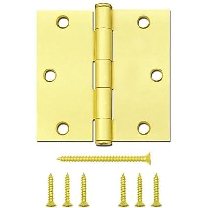 Gatehouse 3 12 Satin Brass Entry Door Hinge 0308908 Amazon