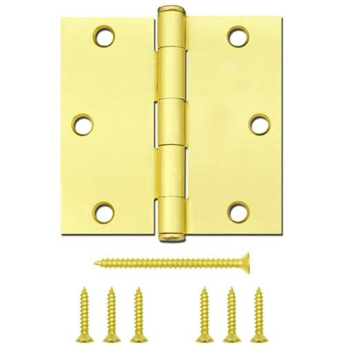 Gatehouse 3-1/2'' Satin Brass Entry Door Hinge - 0308908