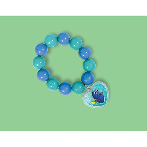 Disney Finding Dory Bead Bracelet with Pendant   Party Favor   12 Ct ()