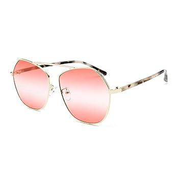 WULE-Sunglasses Unisex Nuevo Borde Poligonal Personalidad ...