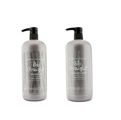 Bumble and Bumble Straight Shampoo & Conditioner Duo 33.8 oz each by Bumble and Bumble