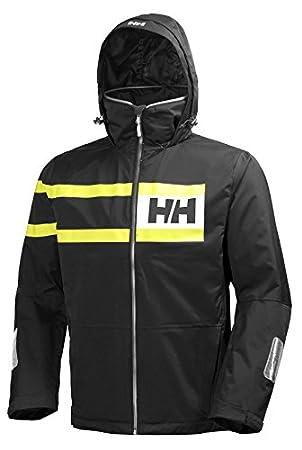 Helly Hansen 36278 Chaqueta, Hombre, Negro, Medium (Tamaño del Fabricante:M
