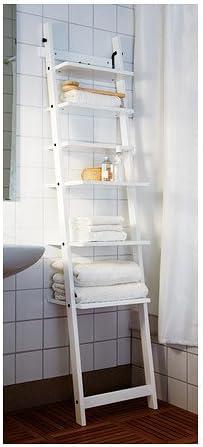 IKEA Hjälmaren - Estantería de pared, blanco - 190 cm: Amazon ...