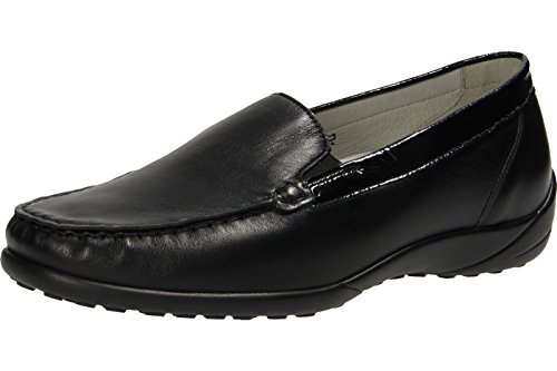 WALDLÄUFER KLÄRE 640004 797 001 Womens Slipper Black AjUAO7wUN