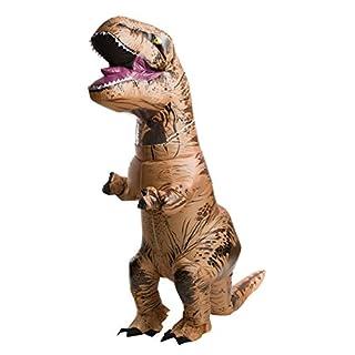 Rubie's Adult Official Jurassic World Inflatable Dinosaur Costume, T-Rex, Teen