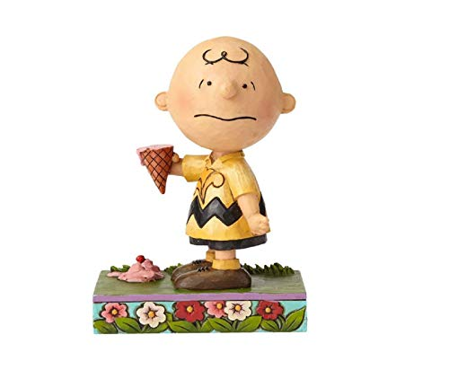 Peanuts by Jim Shore Charlie Brown with Ice Cream