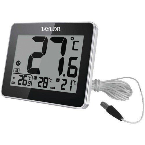 TAYLOR 1710 Indoor/Outdoor Thermometer with Wired Probe Unbranded