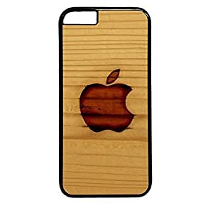 iphone 6 plus case,custom iphone 6 plus case, Apple logo wood background diy iphone 6 plus case,pc Material,Drop Protection,Shock Absorbent by ruishername