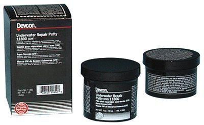 Underwater Repair Putty (UW), 1 lb, Gray (3 Pack)